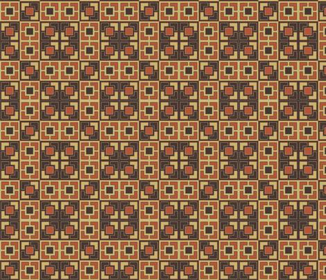 gold_mod_wall fabric by kikispike on Spoonflower - custom fabric