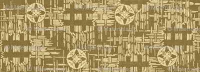 crossflower- khaki