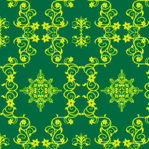 Floral5-green