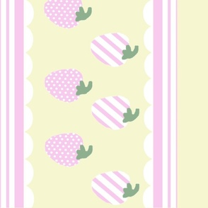 Strawberry Patch-Yellow