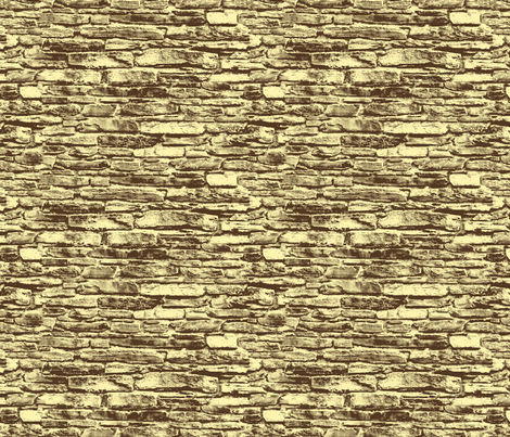 Derry Walls - Two tone Large fabric by cherryandcinnamon on Spoonflower - custom fabric