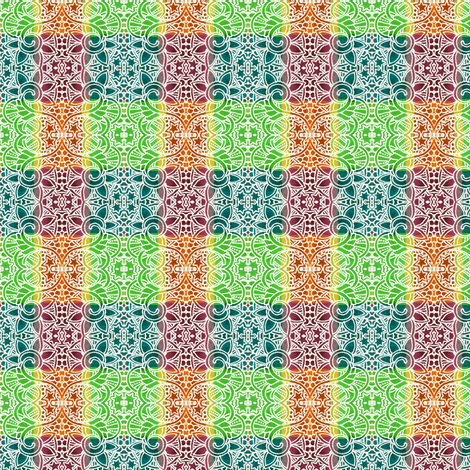 Pass the Sunscreen Plaid fabric by edsel2084 on Spoonflower - custom fabric