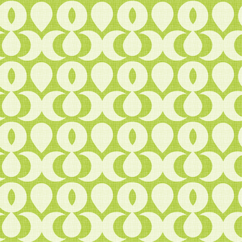 Paulista-Verde & Creme fabric by designertre on Spoonflower - custom fabric