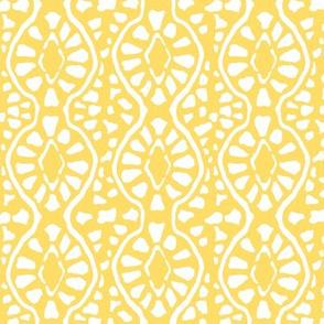 Cobblestone Trellis Yellow