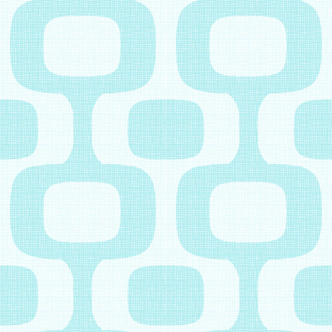 Ipanema-Azul fabric by designertre on Spoonflower - custom fabric