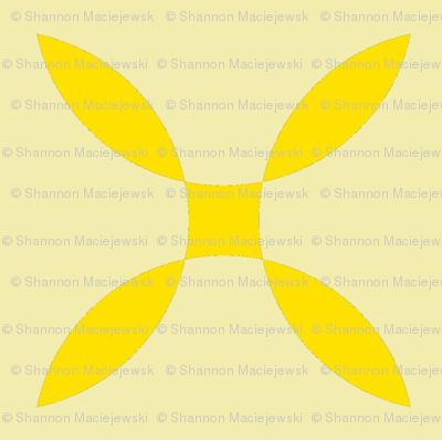 Four Petals - yellow2