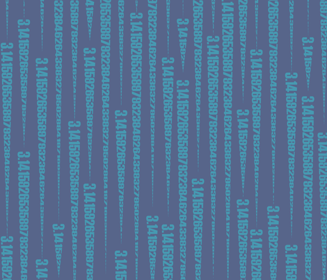 Pi-cicles (jazz blues) fabric by weavingmajor on Spoonflower - custom fabric
