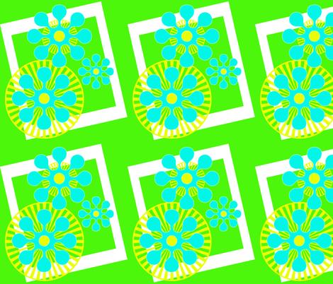 Flower_Power fabric by mammajamma on Spoonflower - custom fabric