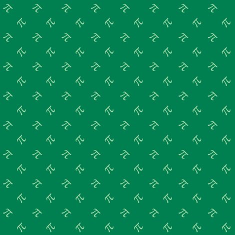 Pi Diamonds in jade and mint fabric by weavingmajor on Spoonflower - custom fabric