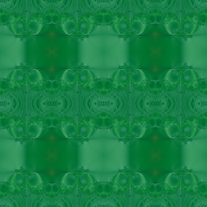 Fractal: Mary's Veil Dark Green