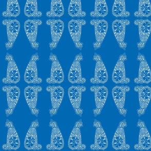 CatsMeow - med - rich blue reverse