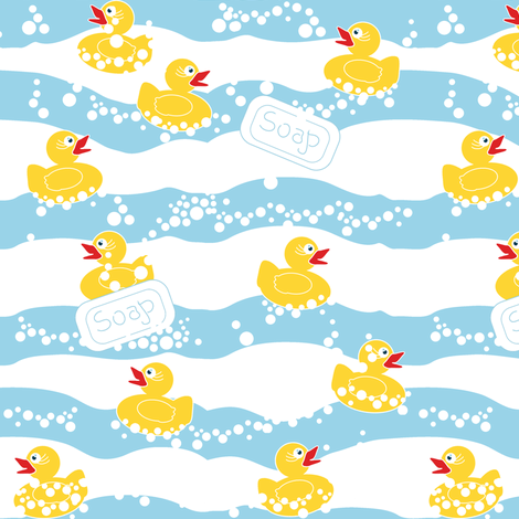 Duck Soap fabric by eclectic_house on Spoonflower - custom fabric