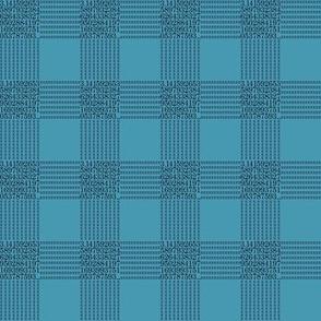 pi are square (sea blue)