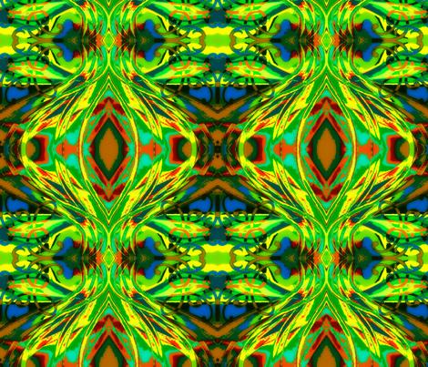 Abstract13-blue fabric by guylas_coastal_creations on Spoonflower - custom fabric