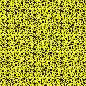 CatsMeow dots - yellow