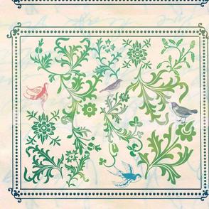 teribr's birds  & vines