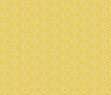 Atomic Symbol fabric by meg56003 on Spoonflower - custom fabric