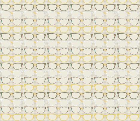 Funky Geek Glasses fabric by meg56003 on Spoonflower - custom fabric
