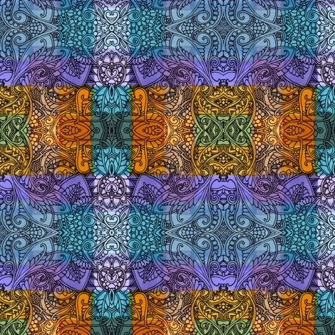 Design o'de Vine fabric by edsel2084 on Spoonflower - custom fabric