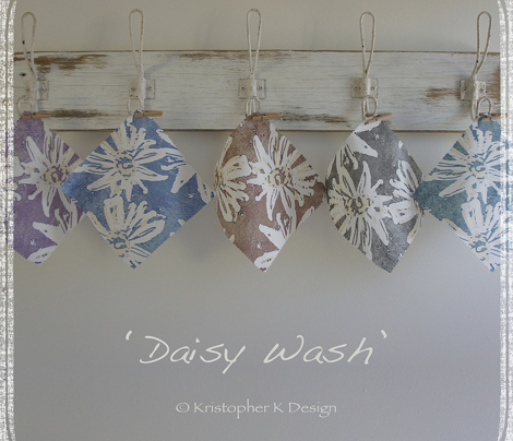 Daisy Wash - Blue