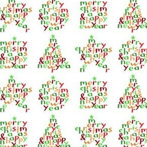 Merry Christmas - shapes (small)