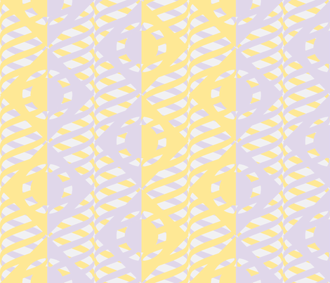 Just Me and My Helix Lavender Mist Butter fabric by glimmericks on Spoonflower - custom fabric