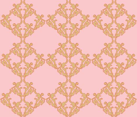 Parisian Girl fabric by ricerafferty on Spoonflower - custom fabric