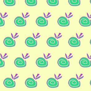 Green ethno apple