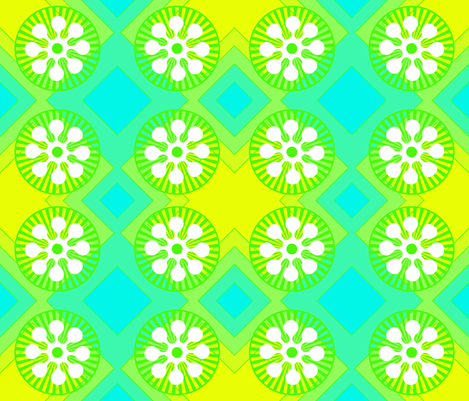 flower_power-2 fabric by mammajamma on Spoonflower - custom fabric