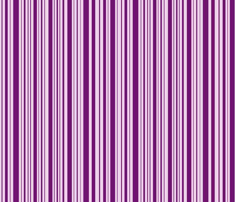 DragonflyZip stripe - deep purple & lavender fabric by celttangler on Spoonflower - custom fabric