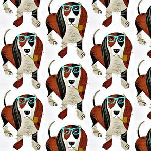Basset Hound Hipster