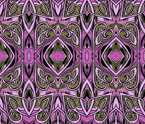 Beatnik Jazz Session fabric by edsel2084 on Spoonflower - custom fabric