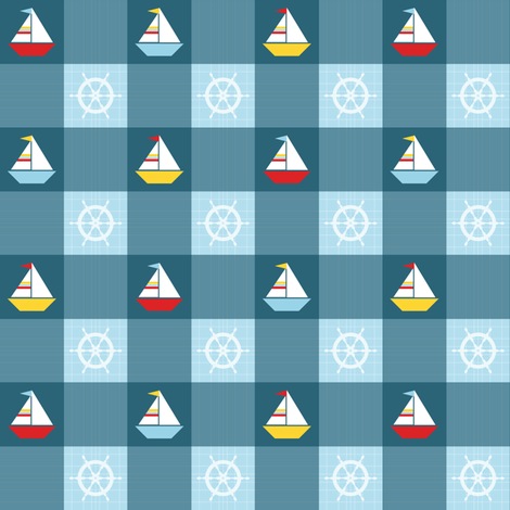 Sail Away... fabric by jjtrends on Spoonflower - custom fabric