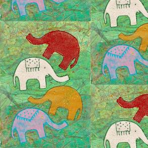 Funky Elephants
