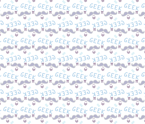 Geek-Chic-spoonflower-firedropdesign fabric by firedropdesign on Spoonflower - custom fabric