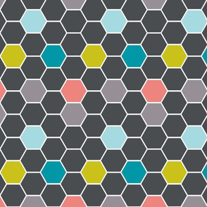 hexies grey