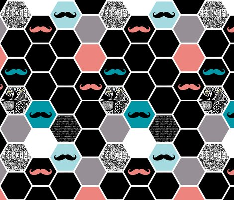 Hexies_black_salmon_mustache1_shop_preview