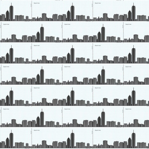 Graph of Boston Skyline - Geek Chic