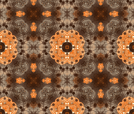 molecules 4 fabric by kociara on Spoonflower - custom fabric
