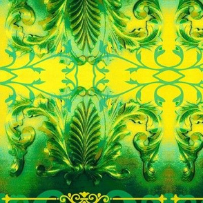 Abstract55-green/yellow