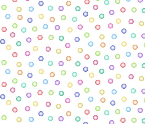 balloon dots fabric by weavingmajor on Spoonflower - custom fabric