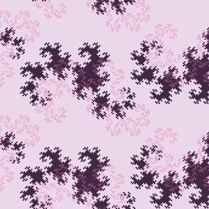 Dragon curve (pink)