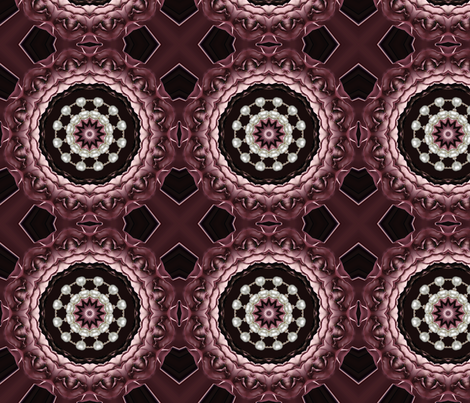 roses and pearls 4 fabric by kociara on Spoonflower - custom fabric