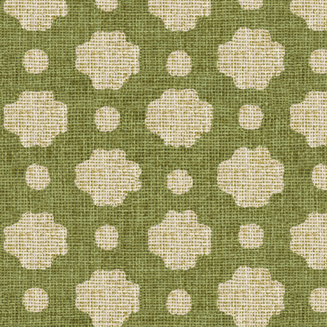 Grass Burlap Fabric fabric by willowlanetextiles on Spoonflower - custom fabric