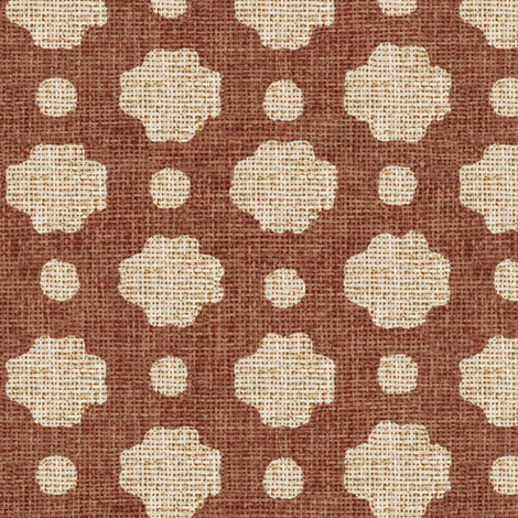 Brick Burlap fabric by willowlanetextiles on Spoonflower - custom fabric