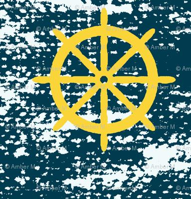 wheel be sailing away