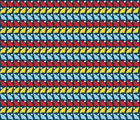 Moonlight_regatta fabric by arttwin on Spoonflower - custom fabric