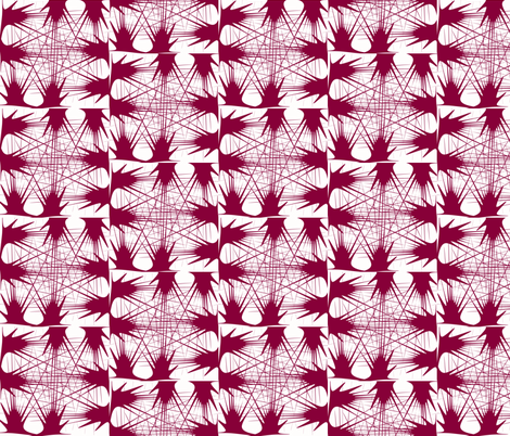 Red Wine Ink 2-ch fabric by sewbiznes on Spoonflower - custom fabric