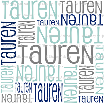 Personalised Name Design -Tauren