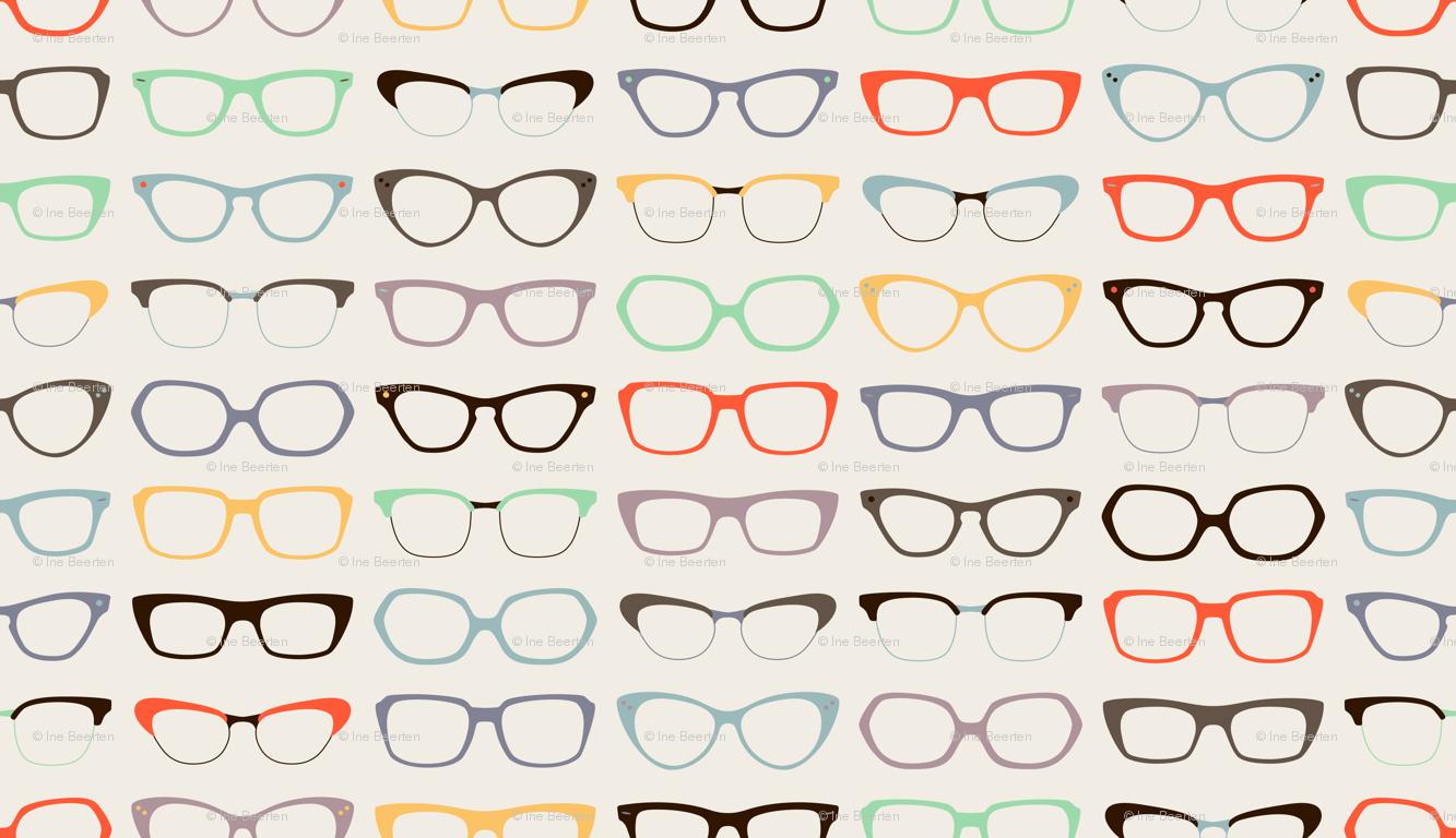 Group Of Nerd Glasses Wallpaper